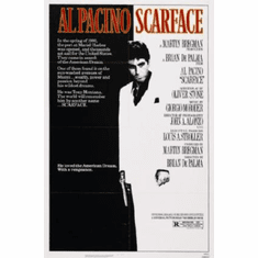 Scarface Movie Poster 24inx36in