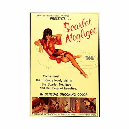 Scarlet Negligee Movie Poster 11x17 Mini Poster