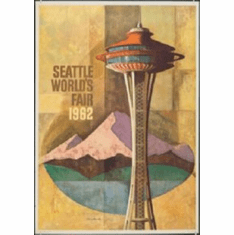 Seattle Worlds Fair 8x10 photo Master Print #01 1962 Art Repro