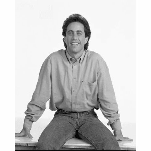 """Seinfeld Black and White Poster 24""""x36"""""""