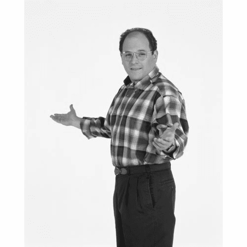 "Seinfeld Black and White Poster 24""x36"""
