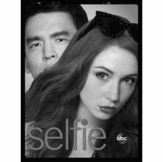 """Selfie Black and White Poster 24""""x36"""""""