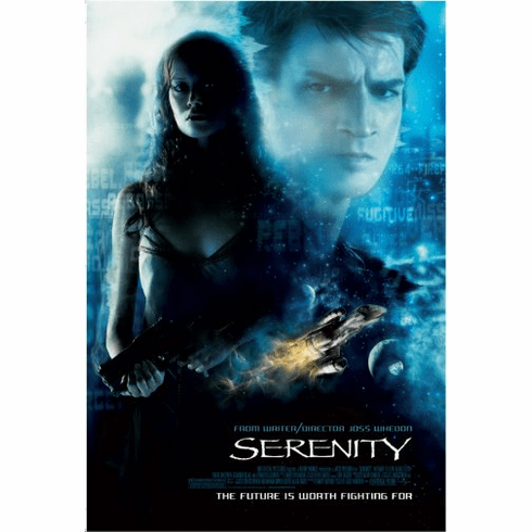 Serenity Movie Poster 24inx36in