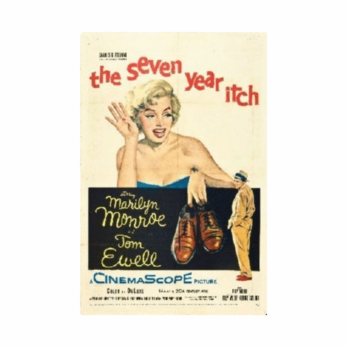 Seven Year Itch Mini Movie Poster 11x17