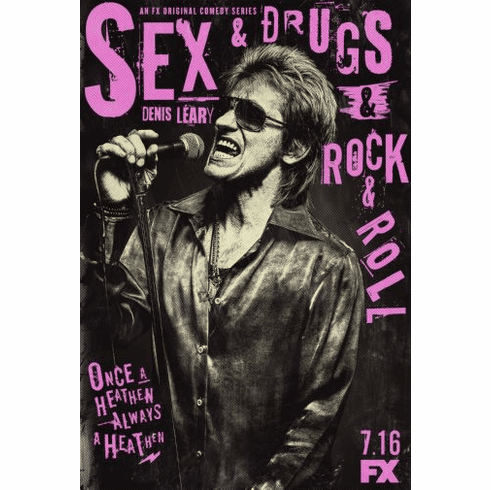 Sex And Drugs And Rock Roll Poster 24in x36in
