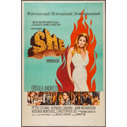 She Movie Poster 24in x36in