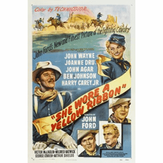 She Wore A Yellow Ribbon Movie Poster 24x36