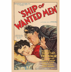 Ship Of Wanted Men Movie Poster 24inx36in