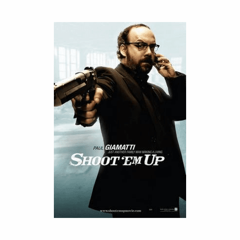 Shoot Em Up Movie Poster 24in x36 in