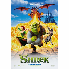 Shrek Movie Poster 24x36