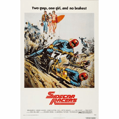 Sidecar Racers Movie Poster 24x36
