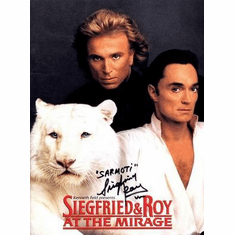 Siegfried And Roy Poster 24in x36 in