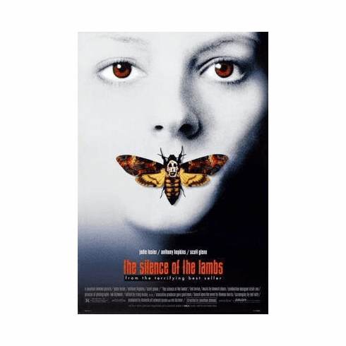 Silence Of The Lambs Movie Poster 24in x36 in