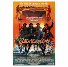 Silverado Movie Poster 24inx36in