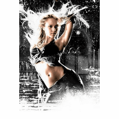 Sin City Movie Poster Jessica Alba 24in x36 in