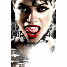 Sin City Movie Poster Tongue 24in x36 in