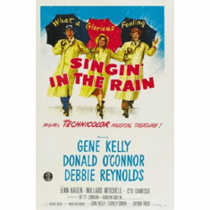 Singin In The Rain Movie Poster 24inx36in