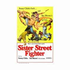 Sister Street Fighter Movie Mini poster 11inx17in