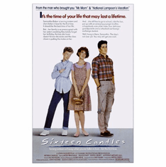 Sixteen Candles Movie Poster 24inx36in