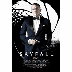 Skyfall James Bond 007 11inx17in Mini Movie Poster
