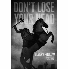 "Sleepy Hollow Black and White Poster 24""x36"""