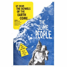 Slime People The Movie Poster 24inx36in