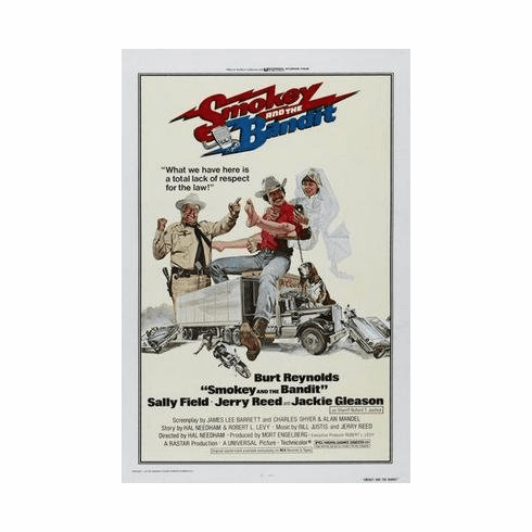 Smokey And The Bandit Movie Poster 11x17 Mini Poster