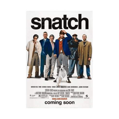 Snatch Movie Poster 24in x36 in