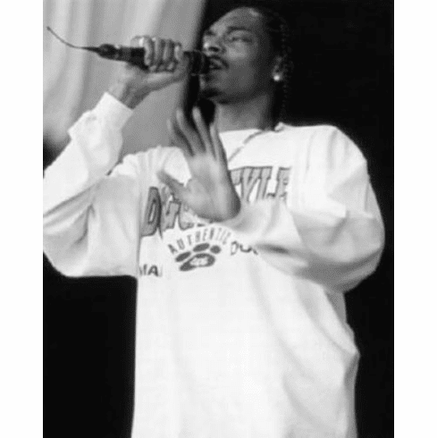 "Snoop Dog Black and White Poster 24""x36"""