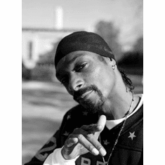 "Snoop Dogg Black and White Poster 24""x36"""