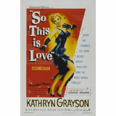 So This Is Love Movie Poster 24inx36in