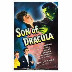 Son Of Dracula Movie Poster 24x36