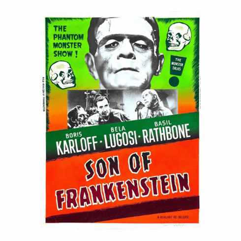 Son Of Frankenstein Movie Poster 24x36