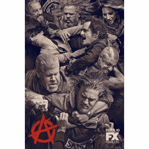 sons of anarchy Mini Poster 11inx17in poster