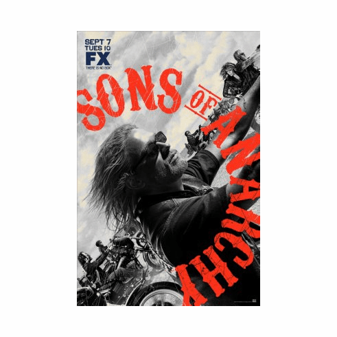 Sons Of Anarchy Mini Poster 11x17in