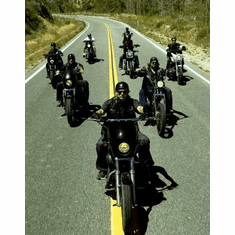 Sons Of Anarchy Riding Poster 24inx36in
