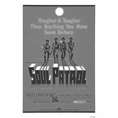"Soul Patrol Black and White Poster 24""x36"""