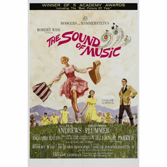 Sound Of Music The Movie Poster 24inx36in