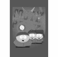 """South Park Black and White Poster 24""""x36"""""""