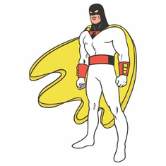 Space Ghost Poster 24inx36in Poster