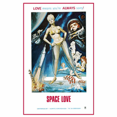Space Love Movie Poster 24inx36in