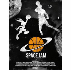 Spacejam Movie Poster 24in x36in