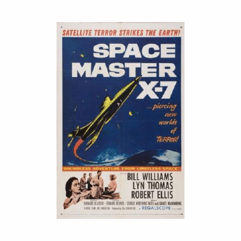 Spacemaster X7 Mini Poster #01 11inx17in Mini Poster
