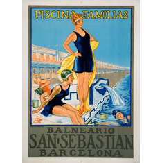 Spain Tourism Advertising Poster 24in x36in
