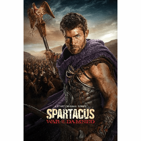 Spartacus War Of The Damned 11inx17in Mini Poster