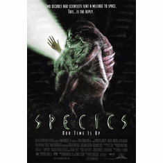 Species Pt 1 Movie Poster 24inx36in