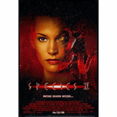 Species Pt 2 Movie Poster 24inx36in