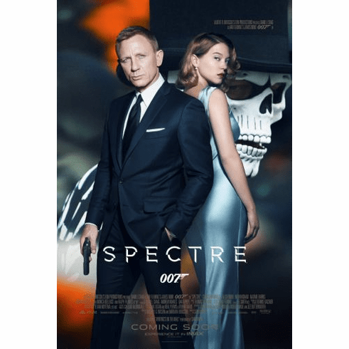 Spectre Movie Poster 24in x36in