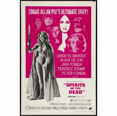 Spirits Of The Dead Poster 24inx36in