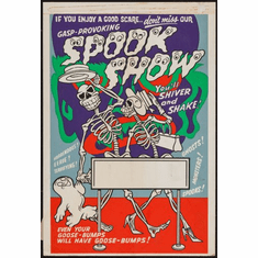 Spook Show Movie Poster 24inx36in Poster